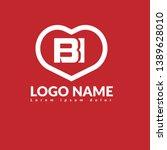 bi company linked letter logo...