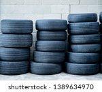 Three Stacks Of Worn Automotive ...