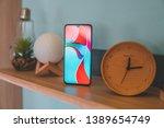 xiaomi mi 9   the best... | Shutterstock . vector #1389654749