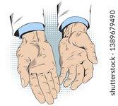 concept of insurance. empty...   Shutterstock .eps vector #1389679490