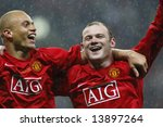 Постер, плакат: Wes Brown and Wayne