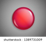 red button isolated on... | Shutterstock .eps vector #1389731009