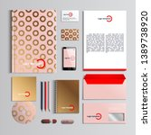 corporate identity template in...   Shutterstock .eps vector #1389738920