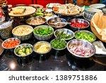 ingredients for cooking... | Shutterstock . vector #1389751886