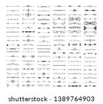super big collection of hand... | Shutterstock .eps vector #1389764903