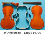 luthier violin disassembled and ...   Shutterstock . vector #1389814703