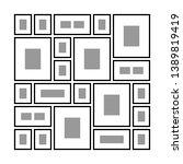 an example of arrangement of...   Shutterstock .eps vector #1389819419
