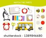 matching children educational...   Shutterstock .eps vector #1389846680