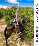 Horse Riding Tourists In Cuba....