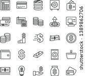 thin line vector icon set  ... | Shutterstock .eps vector #1389862706