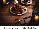 the muslim feast of the holy... | Shutterstock . vector #1389889016