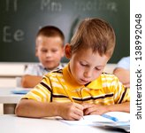 student in the class receives... | Shutterstock . vector #138992048