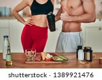 healthy food concept. cropped... | Shutterstock . vector #1389921476