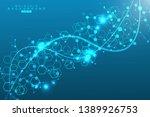big data visualization... | Shutterstock .eps vector #1389926753