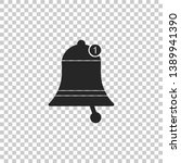 bell icon isolated on...