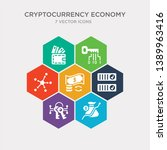 simple set of crypto invest ...   Shutterstock .eps vector #1389963416