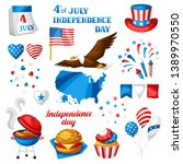 fourth of july independence day ... | Shutterstock .eps vector #1389970550
