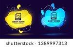 black bmp file document icon....   Shutterstock .eps vector #1389997313
