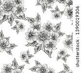 abstract elegance seamless... | Shutterstock . vector #1390019306