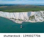 Beautiful Aerial Coastline Of...