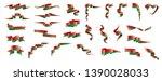 belarus flag  vector... | Shutterstock .eps vector #1390028033