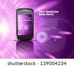 generic smartphone | Shutterstock .eps vector #139004234