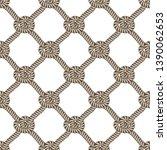 rope seamless pattern  trendy... | Shutterstock .eps vector #1390062653