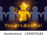 special person concept  best... | Shutterstock .eps vector #1390070183