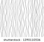 wave simple seamless wavy line. ... | Shutterstock .eps vector #1390110536