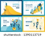 set design web page templates... | Shutterstock .eps vector #1390113719