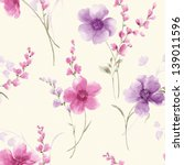 Stock photo spring style seamless background pattern for easy making seamless pattern use it for filling any 139011596