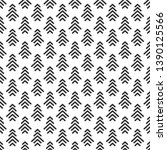 seamless pattern with black... | Shutterstock .eps vector #1390125566