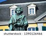 Bonn, North Rhine-Westphalia / Germany - September 25, 2018: Beethoven Monument in Bonn, Germany - Ludwig van Beethoven was a German Composer and pianist