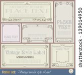 Border Style Labels On...