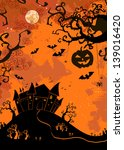 halloween illustration.... | Shutterstock .eps vector #139016420