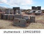 Ruins Of Pumapunku Or Puma...
