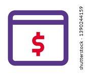 online transaction for cashless ... | Shutterstock .eps vector #1390244159