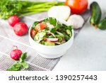 vegetarian salad of spring...