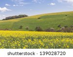huge rapeseed field expand... | Shutterstock . vector #139028720
