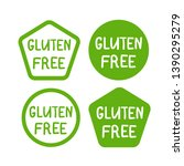 gluten free product icon ...   Shutterstock .eps vector #1390295279