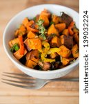 sweet potato hash with fresh...