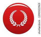 triumph wreath icon. simple...   Shutterstock . vector #1390322963