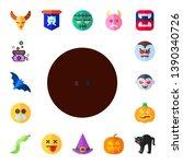 evil icon set. 17 flat evil...   Shutterstock .eps vector #1390340726
