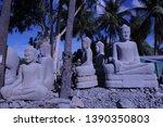 Stone Buddha Carving Area ...