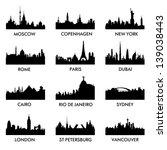 city silhouette 12 | Shutterstock . vector #139038443