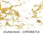 golden shiny glitter abstract... | Shutterstock . vector #1390386713