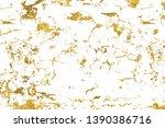 golden shiny glitter abstract... | Shutterstock . vector #1390386716