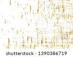 golden shiny glitter abstract... | Shutterstock . vector #1390386719