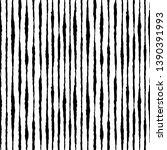 ethnic black and white striped... | Shutterstock .eps vector #1390391993
