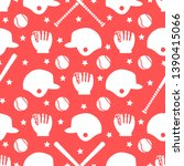 vector seamless pattern with... | Shutterstock .eps vector #1390415066
